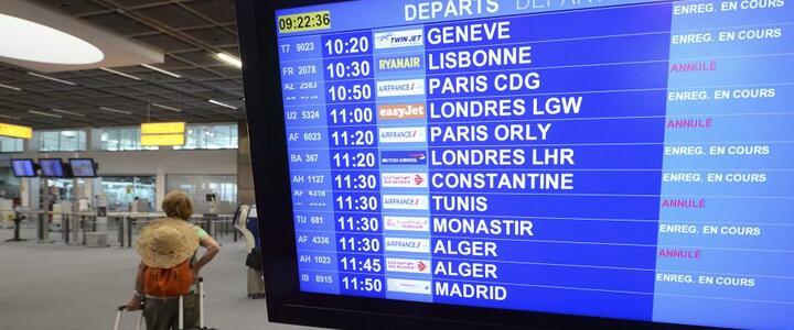 Grève Air France : 60% de vols annulés mardi 16 septembre