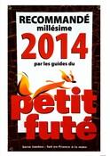 Recommandé millésime 2014 par les guides du Petit Futé