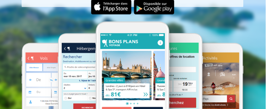Préparez votre prochain voyage avec l'appli Bons Plans Voyage du Routard !