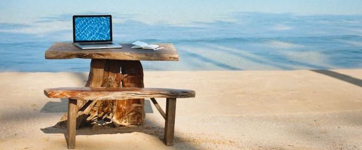Coworking, emmenez votre bureau en voyage