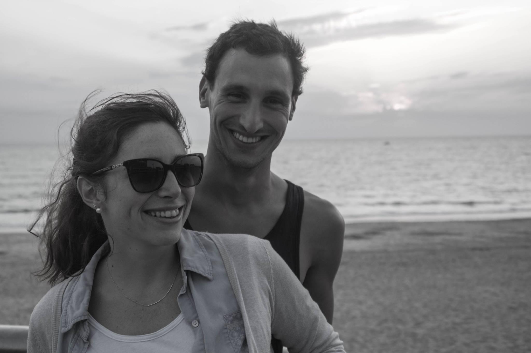 Elly et Lyes-Gaël Sough, les co-fondateurs du site The Travelearner