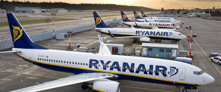 Plusieurs grèves chez Ryanair en juillet