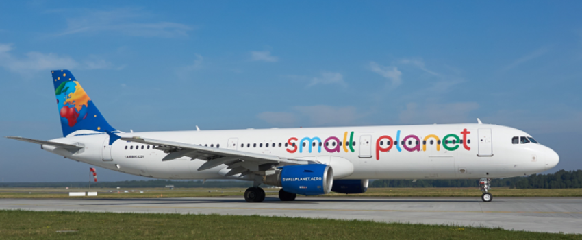 La compagnie charter Small Planet Airlines en difficultés financières