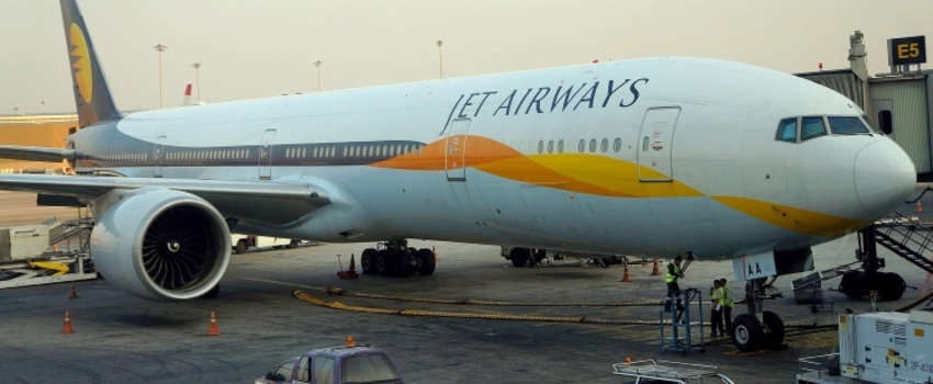 Suspension de tous les vols de la compagnie Jet Airways