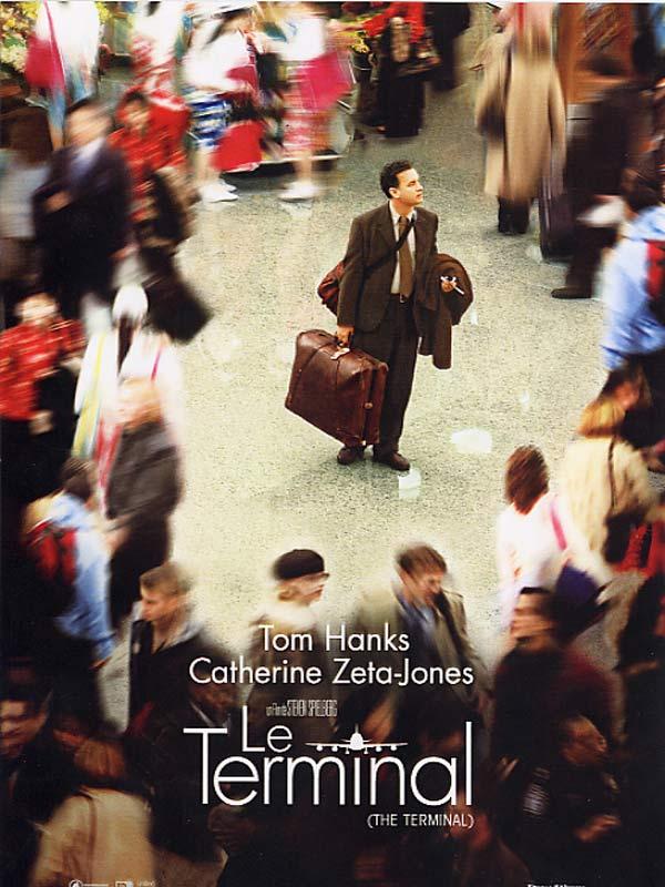 Affiche film Le Terminal