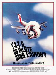 Affiche  du film Y a-t-il un pilote dans l'avion