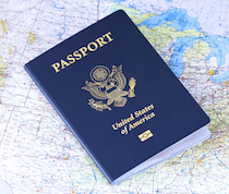 Un passeport américain